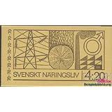 sellos para coleccionistas: Suecia mh26i (completa.edición.) nuevo con goma original 1970 economía y industria...