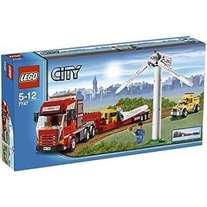 LEGO City Limited Edition Set #7747 Wind Turbine Transport
