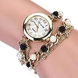 Geneva レディース 腕時計 ロース 真珠 ブレスレットタイプ ウォッチ ランキングお取り寄せ