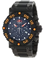 Invicta Men's 10047BLB Subaqua Nitro Chronograph Black Dial Black Watch