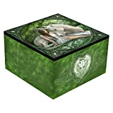Pure Heart Unicorn Trinket Box By Anne Stokes