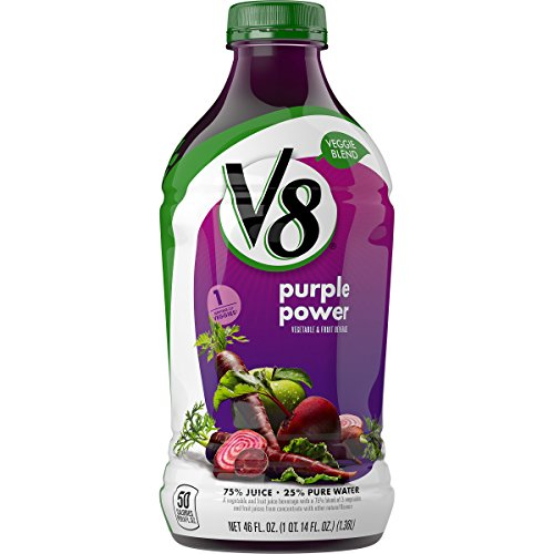 V8 Veggie Blend, Purple Power, 46 Ounce (Pack of 6) (Carrot Beet Juice compare prices)