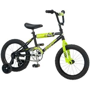Pacific Boy's Flex 16-Inch Bicycle, Black/Yellow