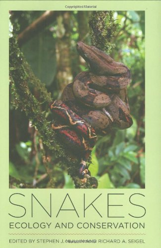 Snakes: Ecology and Conservation