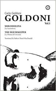 Goldoni Vol. 1: Carlo Goldoni: 9781870259484: Amazon.com: Books