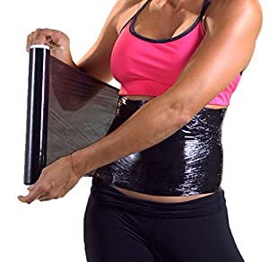 Osmotic Plastic Body Wrap Paper Cellulite Waist Burning osmotica faja cinta