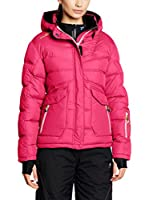 Peak Mountain Chaqueta Guateada Anecy (Fucsia)