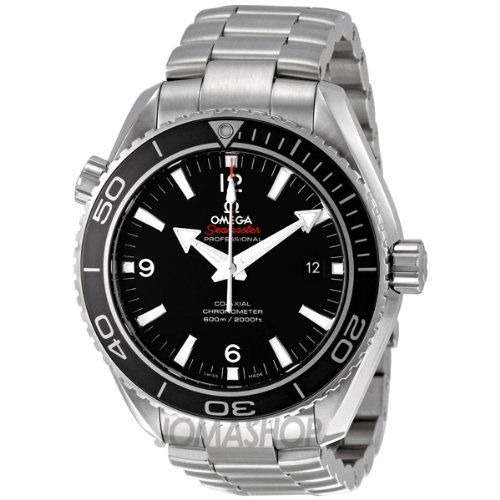 Omega Men's 232.30.46.21.01.001 Seamaster Black Dial Watch