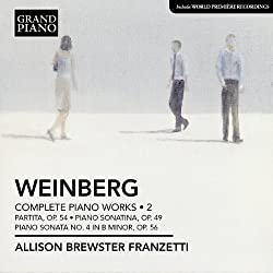 Weinberg: Complete Piano Works Volume 2 (Grand Piano: GP607)