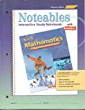 Tennessee Student Edition Noteables Interactive Study Notebook With Foldables (Glencoe Mathematics Applications and concepts Course 2) (0078690269) by Dinah Zike