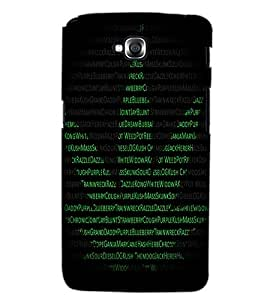 LG G PRO LITE TEXT Back Cover by PRINTSWAG