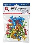 Learning Resources LER 3660 - Aufstellfiguren Familie, 24-teiliges Set im Beutel hergestellt von Learning Resources