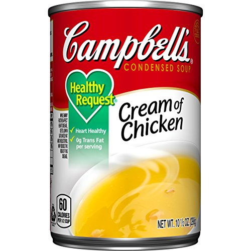 Campbell's Healthy Request Condensed Soup, Cream of Chicken, 10.5 Ounce (Pack of 24) (Condensed Cream compare prices)