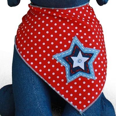 North Star Dog Bandana Kerchief