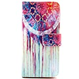Apple iphone 6 4.7'' Case, FineCase iphone 6 4.7 inch PU Leather Wallet Stand Case Cover with Built-in Credit Card/ID Card Slots, Flip Protective Skin Case with Magnetic Closure (Painted)