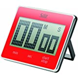 Silit 68003301 Digitaler Kurzzeitmesser Attimo, rot