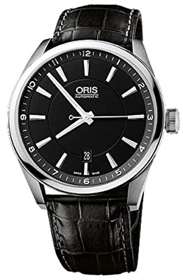 Oris Artix Black Dial Date Men Watch 733-7642-4054LS