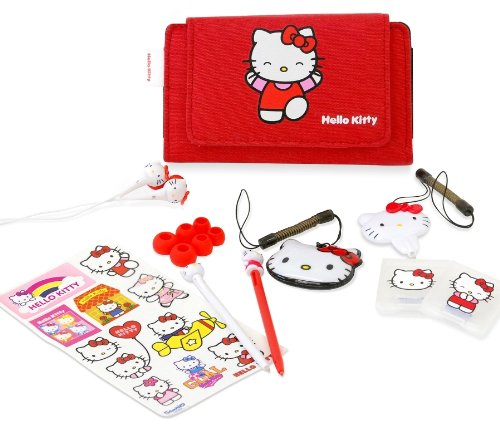 Hello Kitty Essential Accessory Pack (Nintendo 3DS, DSi, DS Lite)
