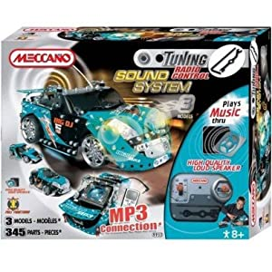 Meccano MBE-MCC030 Tunning RC MP3 Hook Up Blue Ver