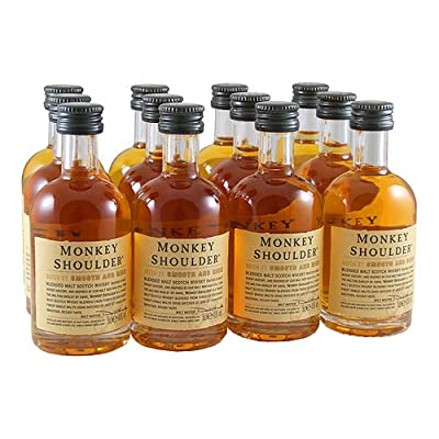 Monkey Shoulder Triple Malt Scotch Whisky 5cl Miniature - 12 Pack from Monkey Shoulder