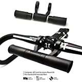 BM WORKS Speed Extender - Lightweight (80g) Bicycle Handlebar Extender for Bike Mounts, GPS Units, Lights, Smartphone Cases, Mounts and Holders. With Adjustable Bar Length up to 18cm!