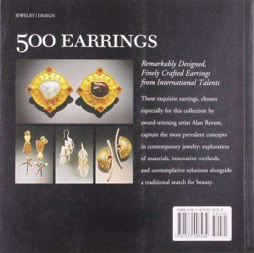 500 Earrings: New Directions in Contemporary Jewelry (Lark Jewellery)