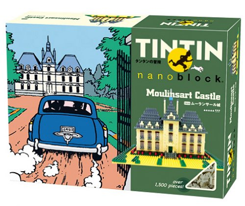 Nanoblock - Tintin - Moulinsart Castle - 1500pcs Set