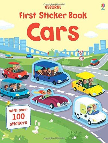 First Sticker Book Cars (First Sticker Books)