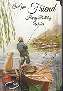 For you friend happy birthday wishes for Fishing birthday wishes