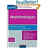 Mathématiques - Professeur des écoles - Épreuve écrite d'admissibilité 2014 - Nouveau concours