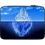 Snoogg Castle On Iceberg` 2765 12 To 12.6 Inch Laptop Netbook Notebook Slipcase Sleeve