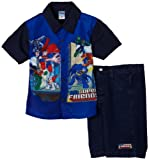 Kids With Character Boys 2-7 Two Piece Super Friends Set Toddler