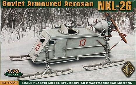 Maquette Aéroglisseur soviétique NKL 26