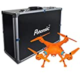 Potensic Luxury Collection Upgraded Version Syma X8W (Orange) Quadcopter and Carrying Case for Syma X8W Quadcopter Drone