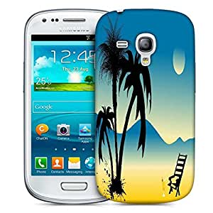 Snoogg Summer Background Designer Protective Back Case Cover For Samsung Galaxy S3 Mini