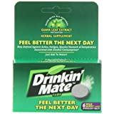 Drinkin  Mate Feel Better the Next Day Tablets, 6-Count Package- Wild Berry