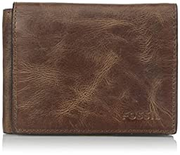 Fossil Men\'s Derrick Execufold, Brown, One Size