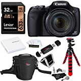 Canon PowerShot SX530 HS + Lexar SDHC 32GB + Tripod + Ritz Gear Bag + Battery + Ritz Gear Card Reader + Polaroid Cleaning Kit + Screen Protector + Polaroid Memory Card Wallet