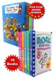 Ken and Angie Lake Rachel Renee Russell Dork Diaries and The Diaries of Robins Toys 16 books Collection Set Pack