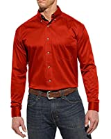 Ariat Men's Spitfire Solid Twill Long Sleeve Shirt