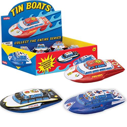 Tin Friction Boat