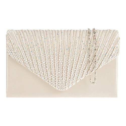Easter sale New Summer 2013 Designer Satin Stud Women's Clutch Bag Wedding Prom 41074