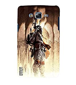 Omnam Fighter Cartoon Designer Back Cover Case For Samsung Galaxy J5