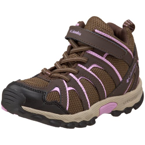 Columbia Sportswear Kaibab BC3157 Hiking Shoe (Toddler/Little Kid),Cordovan/Hydrangea,8 M US Toddler