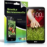 Snekz Screensafe Ultra Clear HD Screen Protector (Pack of 2) (LG G2)