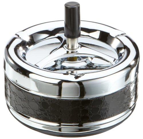 H.G Handels 123.068 Posacenere a pressione 13,5 cm a strisce