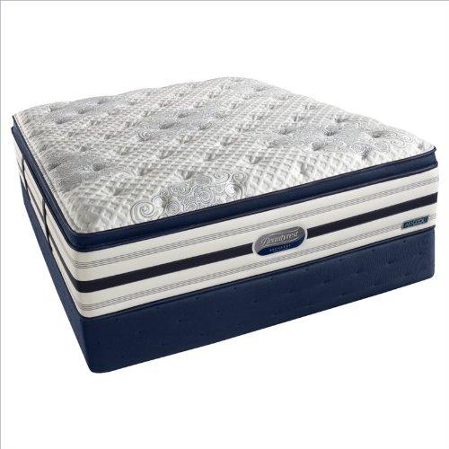 Simmons Beautyrest Recharge World Class River Lily Luxury Firm Super Pillow Top Mattress Set - Queen / Standard Height front-1074438
