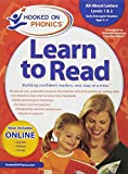 img - for Amazon Exclusive Hooked on Phonics Learn to Read Pre-K Complete with BONUS book / textbook / text book