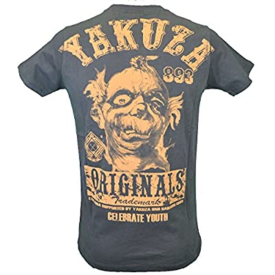 Yakuza T-Shirt Herren Round Neck TSB 622 Celebrate Youth dark gull gray