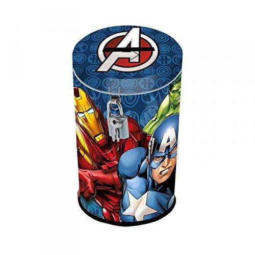 "Avengers - Salvadanaio, motivo ""Capitan America, Iron Man, Hulk"""